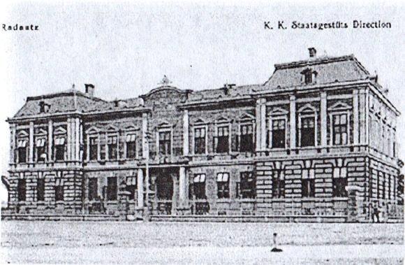 Sediul Directiei Hergheliei Radauti 1910
