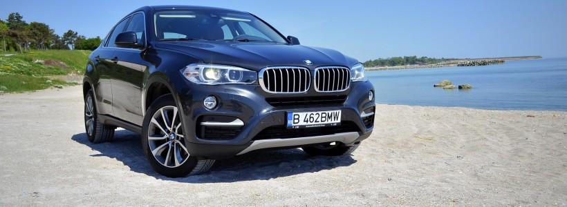Probă de drum la Radio Constanţa cu noul BMW X6