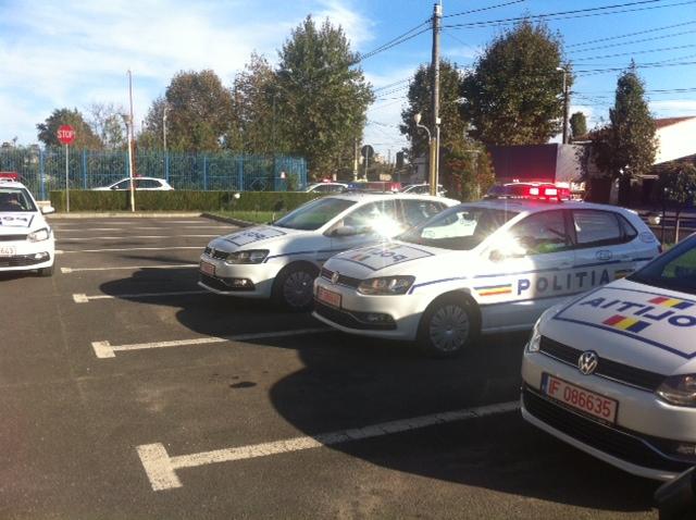 Volkswagen Golf Politie Radio Constanta 1