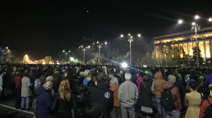 protest piata victoriei 1