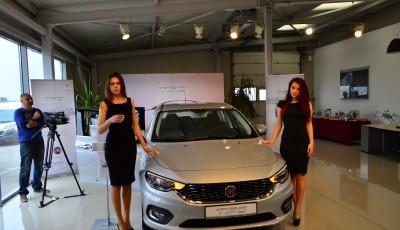 Noul Fiat Tipo, sedanul italienilor, s-a lansat și la Constan