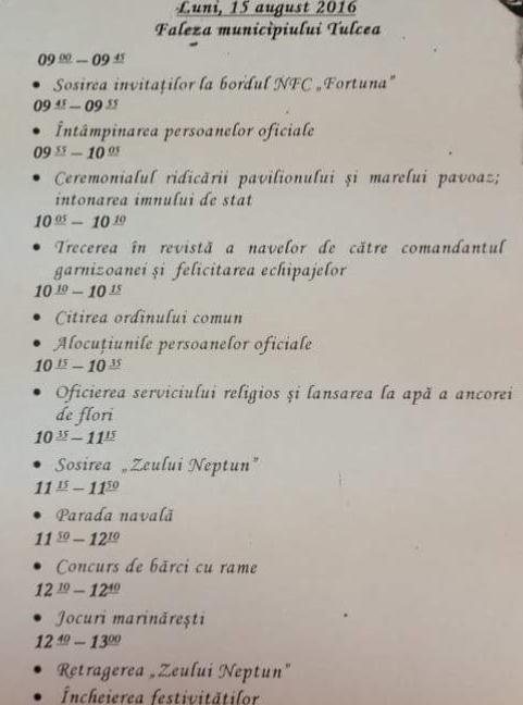 program tulcea